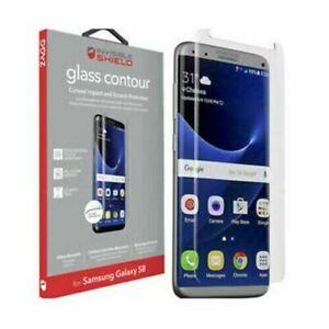 Zagg Samsung Galaxy S8 InvisibleShield Contour Tempered Glass Screen Protector
