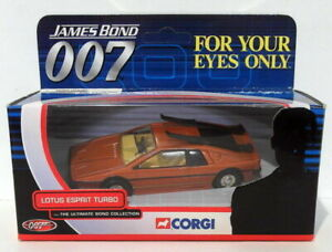 Corgi Appx 1/36 Scale Diecast TY04702 Lotus Esprit For Your Eyes Only 007 Bond