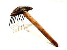 Outil ancien rare peigne à carder XIXème