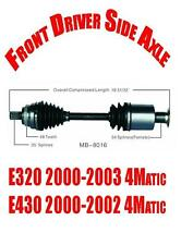 Front Driver Side Axle for Mercedes-Benz E320 2000-2003 & E430 2000-2002 4Matic
