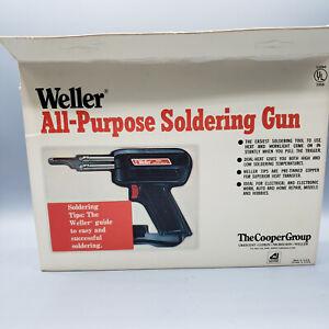 Vintage WELLER Model 8200 Soldering Gun Kit New Old Stock. Sealed
