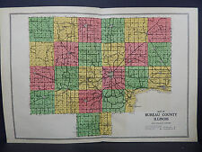 Illinois, Bureau County Map, 1916 W16#86