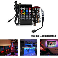 5V USB LED Strip 5050 RGB Changeabl LED TV Background Lighting 1-5M DIY Flexib