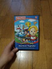 PC Spiel CD Rom Lernspiel Fisher Price Little People Abenteuer Flughafen