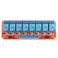 5/12/24V 8-Channel Relay Module with Optocoupler H/L Level Triger for Arduino