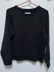 Everlane Black Sweater Shirt Top Medium