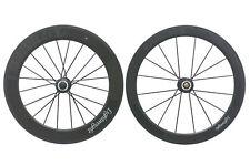 Lightweight Fernweg 60 Road Bike Wheel Set 700c Carbon Tubular Shimano 11 Speed