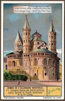 German Cathedrals Saints Apotres Cologne Church History c1930 Trade Ad  Card