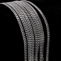 "Fashion 5pcs 2MM 925 Sterling Silver ""O"" Chain Men Women Necklace 16-30 Inch"