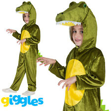 Girls & Boys Crocodile Costume World Book Day Week Fancy Dress Outfit Jumpsuit