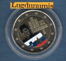 2 Euro Commémo Couleur Color - Slovénie 2011 Rozman Franc