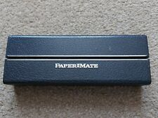 VINTAGE COLLECTABLE PAPERMATE FOUNTAIN PEN BOX FOR 1-2 PENS