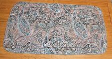 "Fortrel Brand King Sized Decorative 24 X 44"" Pillow Sham Paisley"