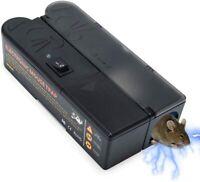 Electronic Mouse Trap Mice Killer Rat Pest Control Electric Zapper Rodent UK EU
