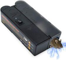 Электронная ловушка для мыши мыши убийца крыса борьба с вредителями электрический электронные мухобойки грызунов Uk Eu