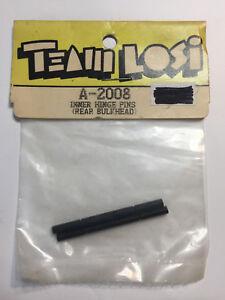 Vintage Team Losi Inner Hinge Pins Rear Bulkhead A-2008 JRX2 Pro SE (bx18) NIP