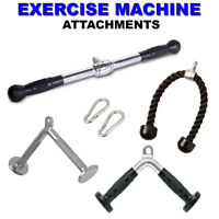 New Gym Attachments Machine Equipment Accessories Pull Press Down Tricep Bar