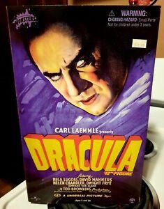 "Dracula 12"" FIGURE 2001 SIDESHOW UNIVERSAL STUDIOS MONSTERS RARE!! NEW IN BOX"