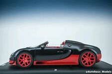 1/18 MR Collection Bugatti Veyron Vitesse Black and Red Very Rare