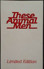 These Animal Men Limited Edition Accident And Emergency Sampler Cassette.TAM 1.