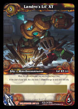 WOW World of Warcraft TCG Unscratched Loot Card  Landro's Lil' XT  WOW PET