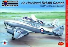 KP Models 1/72 DE HAVILLAND DH-88 COMET IN RAF & FOREIGN SERVICE