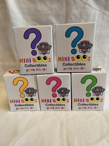 """TY Beanie Boos Mini Boo Paw Patrol BLIND BOXES Hand Painted 2"""" SEALED Lot 5"""