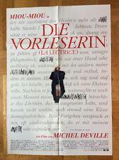 Vorleserin (Kinoplakat '89) - Miou-Miou / Michel Deville