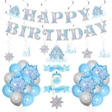 Frozen Birthday Party Supplies, Frozen Party Decorations for Girls Princess