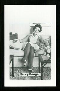 Political President real photo postcard RPPC Ronald Reagan Nancy Reagan