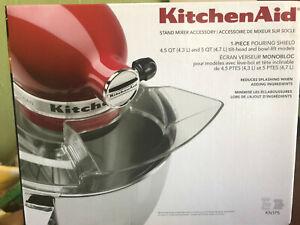 Kitchenaid Mixer Pouring Shield Professional Five Plus 5 Quart Mixing Bowl box