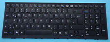 Tastatur Sony Vaio VPCEH2N1E VPCEH2M1E VPCEH1E/B mit Rahmen Keyboard deutsch