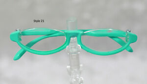 1/3 1/4 BJD SD 60cm 45 eye glasses eyeglasses Dollfie Green clear lens Style 21