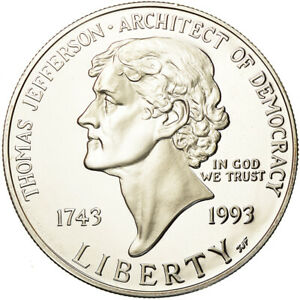 [#880878] Coin, United States, Dollar, 1993, U.S. Mint, San Francisco, MS(63)