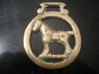 Vintage The Shire Horse Centre - Devon - Horse Brass