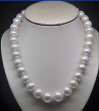Pearl Necklace 14k Yellow Golden Clasp New 10-11Mm Akoya Reay Natural White