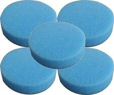 5 Pack Lake Country Hydro-Tech Pads Cyan Foam Cutting Pad - 2 inch H2O9212-5