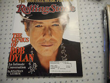 Bob Dylan Covers Rolling Stone Magazine September 2006