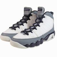 Nike Air Jordan 9 Retro White Imperial Purple 537736-109 Size 5Y Youth GS