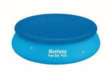 Bestway Abdeckplane für Fast Set Pool Ø 305cm