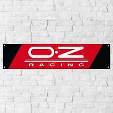 OZ Racing Wheels Banner Garage Workshop PVC Sign Trackside Car Display