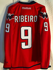 Reebok Premier NHL Jersey Washington Capitals Mike Ribeiro Red sz XL