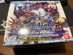 Digimon v1.0 TCG Release Special Booster Box Rare Common Uncommon Bulk 230 CARDS