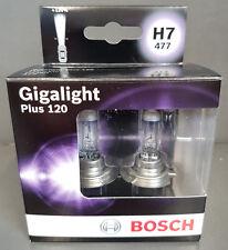 BOSCH Set Lámparas Para Coche H7 Gigalight Plus 120 Caja Doble #####