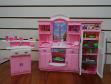 My Fancy Life Dollhouse Furniture - Kitchen Play Set Toy for Kids