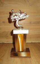 Vintage 1972 Snowmobile Trophy Muskegon Jaycees