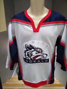 Mens Elmira Jackals ECHL UHL NHL Affiliate Hockey Jersey - Size Xtra Small