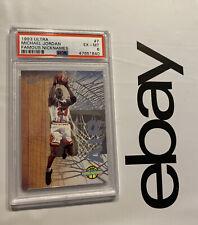 Michael Jordan PSA 6 Fleer Ultra Famous Nicknames Man Cave Collector Card 1993