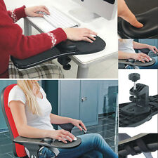 Home Office Computer Arm Rest Chair Armrest Mouse Pad Wrist Support Long Mat
