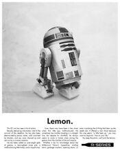 Justin Van Genderen R2D2 R2 D2 Lemon Art Print Firefly